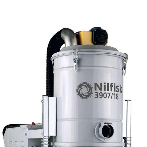 Aspirador Trifásico a Prueba de Explosiones Nilfisk 3907/18 ATEX