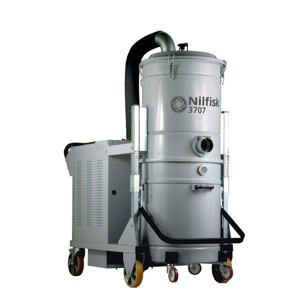 Aspirador Trifásico Para Agua y Polvo Nilfisk 3707/10