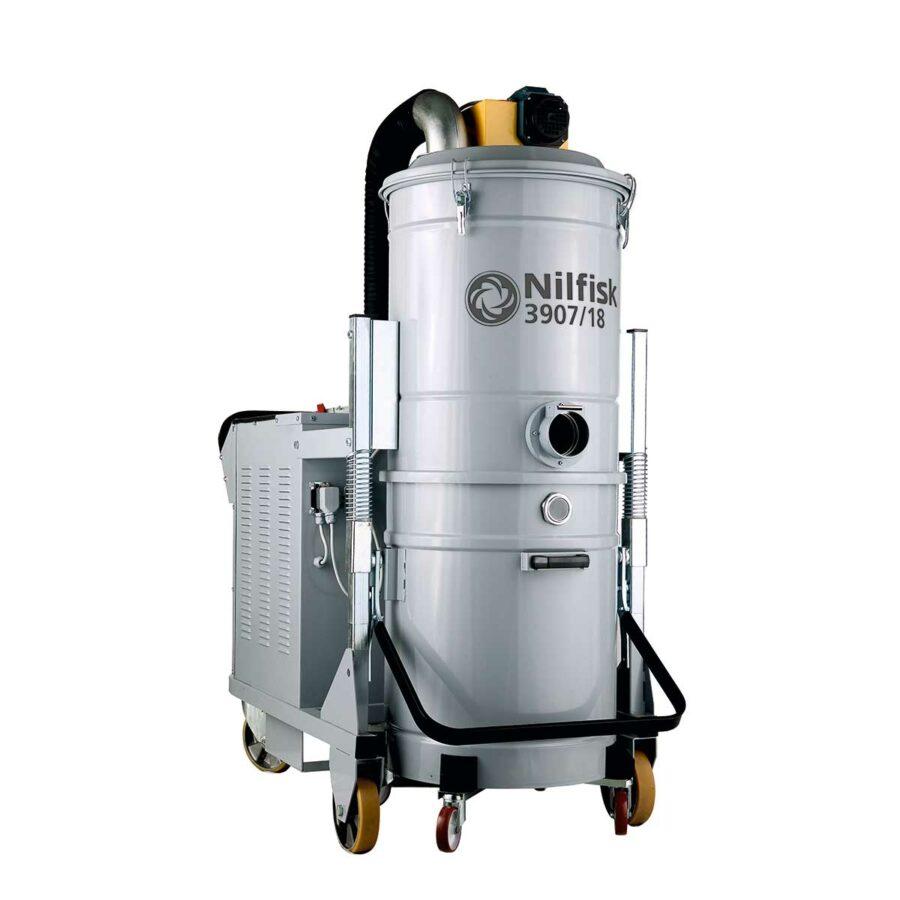 Aspirador Trifásico Para Agua y Polvo Nilfisk 3907