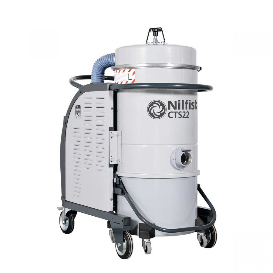 Aspirador Trifásico Para Agua y Polvo Nilfisk CTS22 STD