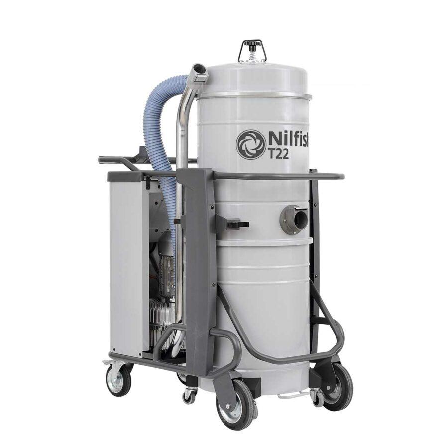 Aspirador Trifásico Para Agua y Polvo Nilfisk T22