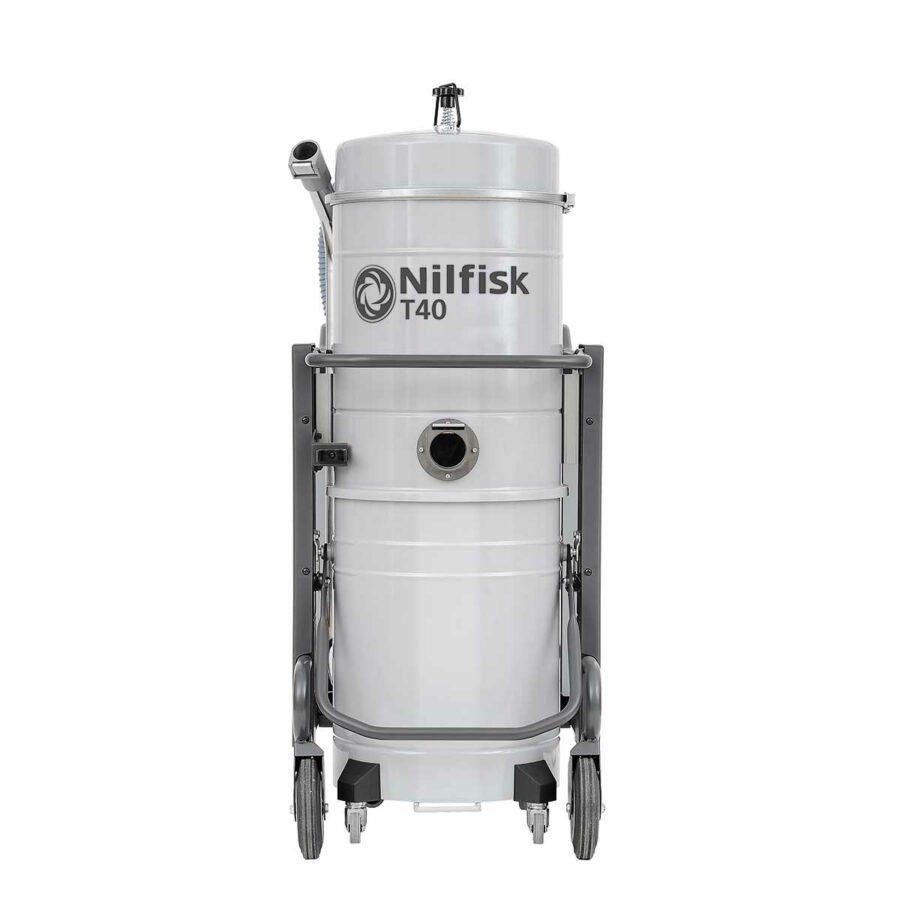 Aspirador Trifásico Para Agua y Polvo Nilfisk T40