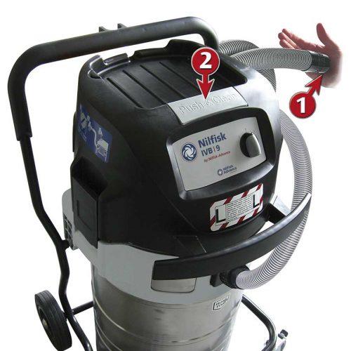 Aspirador de Higiene y Seguridad Nilfisk IVB 965 SD XC
