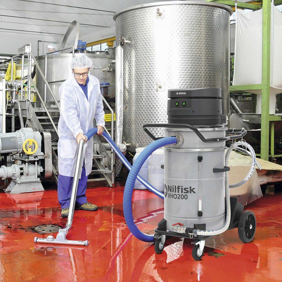 Aspirador Para Aceite y Virutas Nilfisk VHO200 Bodegas