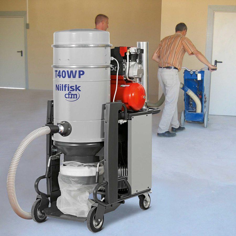 Aspirador Trifásico Para Agua y Polvo Nilfisk T40W