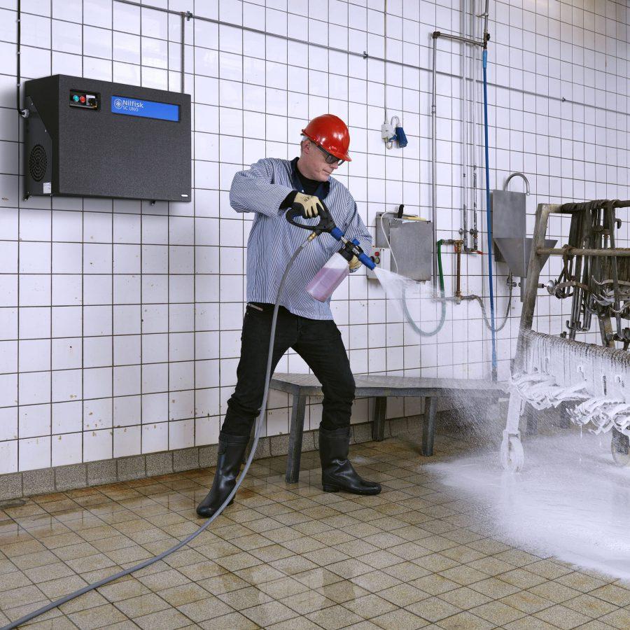 Hidrolimpiadora Estacionaria Nilfisk SC UNO 5M