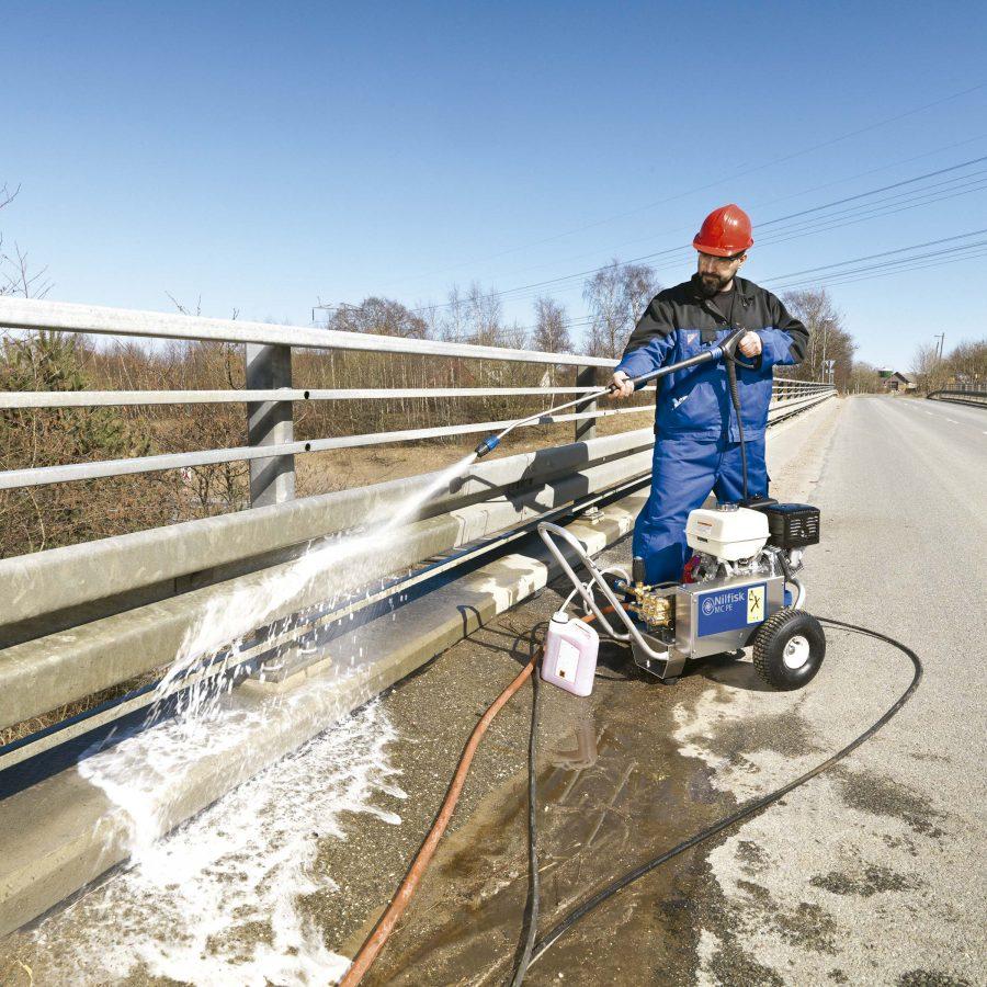 Hidrolimpiadora Autónoma de Agua Fría Nilfisk MC5M PE